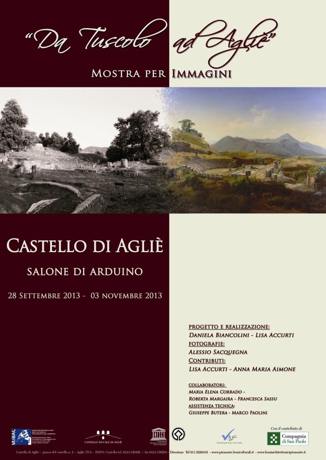 locandina Agliè-Tuscolo